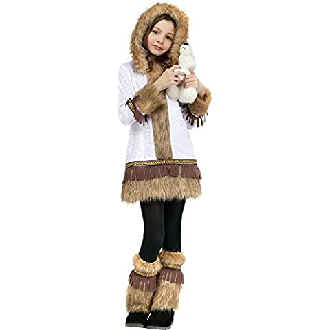 Eskimo Costume - Medium by Fun World