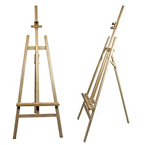 staffelei como aus buchenholz fsc keilrahmen bis 130cm h he bis 230 cm qualit t vom. Black Bedroom Furniture Sets. Home Design Ideas