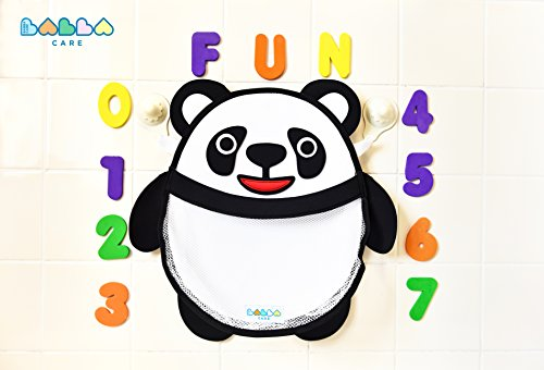 percy-panda-bath-toy-storage-organiser-for-boys-and-girls-comes-with-2x-strong-hold-suction-cups-and