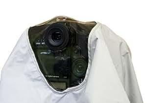 Protection de pluie professionnel pour Canon et Nikon (non pas pour D2, D3, D700) reflex avec trois oeilletons - pour CANON EF 400mm f/2.8 L (IS), EF 500mm/4 IS, EF 600mm f/4L IS, EF 800mm f/5.6L IS, NIKON AF-S NIKKOR 600mm f/4G ED VR, AF-S NIKKOR 500mm f/4G ED VR, AF-S NIKKOR 400mm, f/2.8G ED VR, NIKON AF-S NIKKOR 200-400mm f/4G ED VR II