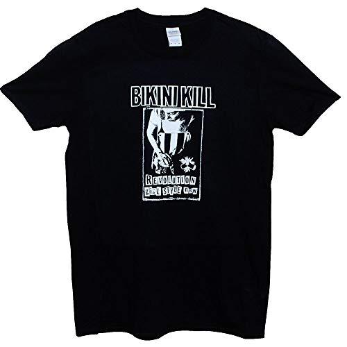 Bikini Kill T Shirt Punk Rock Riot Grrrl Feminist