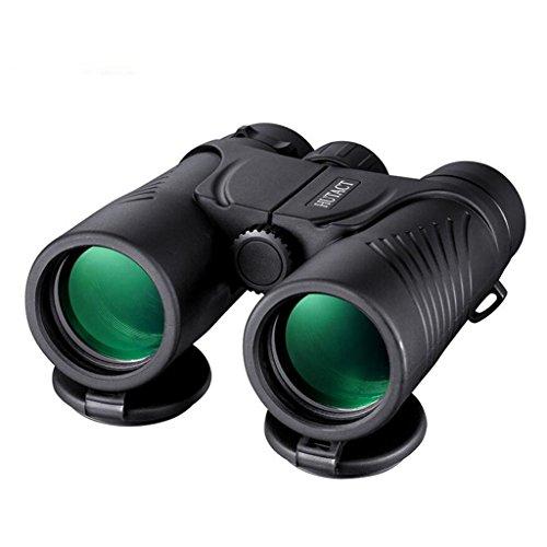 QAR Erwachsener im Freien 10x Ferngläser HD fokussieren beweglichen Navigations-Fischen-Vogel-Spiegel Teleskop