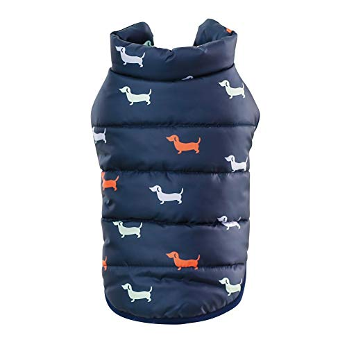 Etophigh Wintermantel für Hunde, wasserdicht, Kleidung für Kleine -