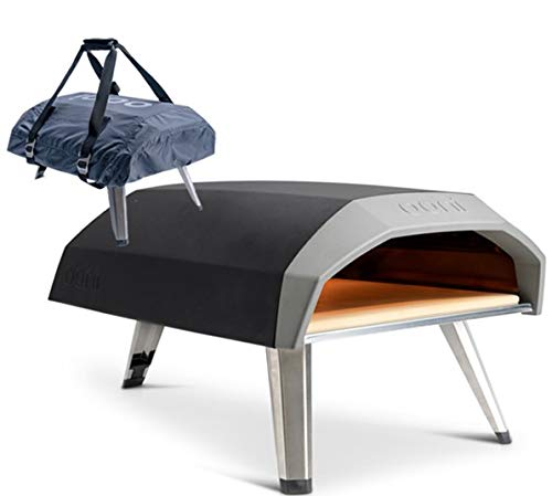 Ooni Koda Gas-Powered Outdoor Pizza Oven c/w Cover