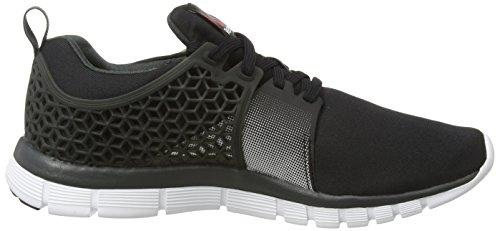 Reebok Z Dual Rush 2.0, Chaussures de Running homme Noir (black/gravel/silver)