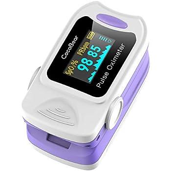 CocoBear Pulse Oximeter Professional Portable Finger Oximeter