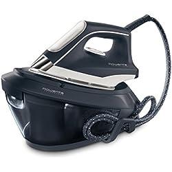Rowenta Powersteam VR8220F0 - Centro de planchado 6,5 bares de presión de agua, autonomía ilimitada, golpe de vapor 350 g/min y vapor continuo 120 g/min, autoapagado, cartucho antical