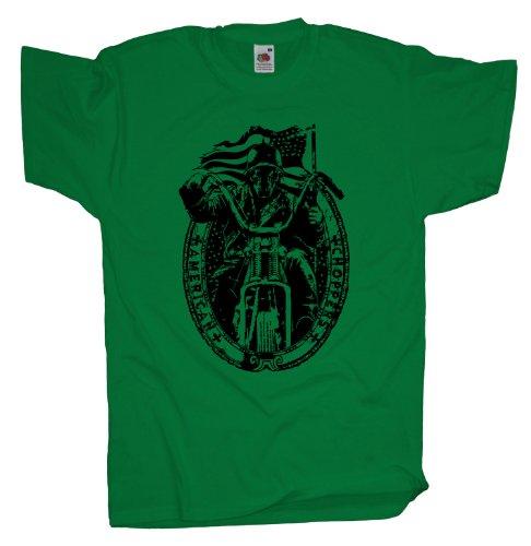 Ma2ca - Biker Motorrad Rocker - T-Shirt Kelly
