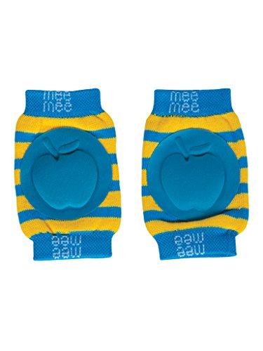 Mee Mee Soft Baby Knee Elbow Pads, Blue