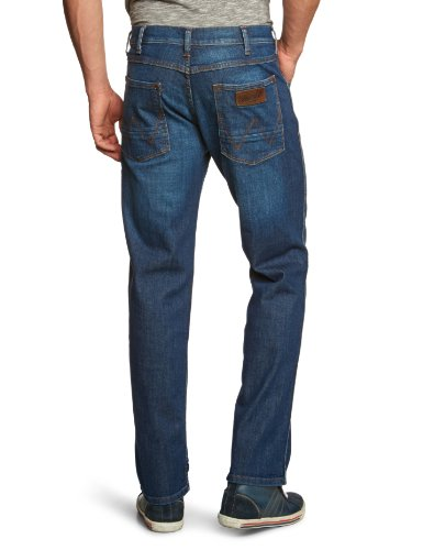 Wrangler - Texas Stretch - Jeans - Homme Bleu (Night Break)