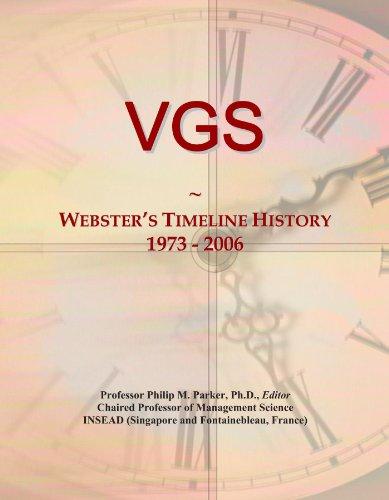 VGS: Webster's Timeline History, 1973-2006