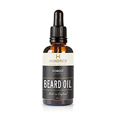 Beard Oil, Forest™ Blend, All Natural - 7 Premium Oils Blended Into a Mouth Watering Concoction - Guaranteed to Soften Your Beard and Make it Kissable by Hundred Beard Co.