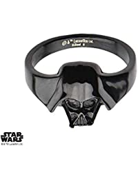 Anillo de Star Wars 3d Darth Vader tamaño 09 ...