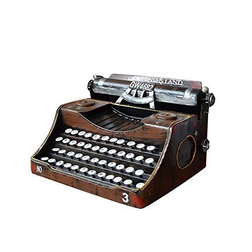 SKY-Home MEMIND Retro Nostalgiker Altmodisch Englische Tastatur Schreibmaschine Modell Wohnzimmer/Schlafzimmer/Büro/Arbeitszimmer Dekorative Verzierungen Creative Geschenk