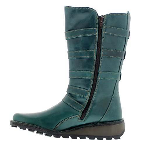 Fly London Womens Meca 896 Fly Rug Leather Boots Essence