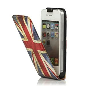 amazon phone cases for iphone 4 vintage union pu leather vertical for iphone 4 7465