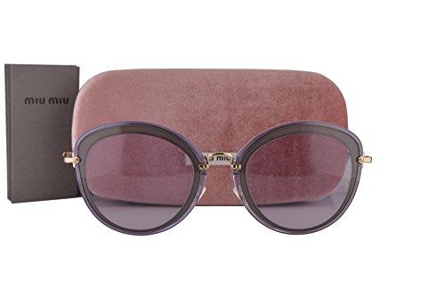 Miu Miu Frau MU50RS Sonnenbrille Violette Mit Violette Gläsern UFA3F2 SMU 50R