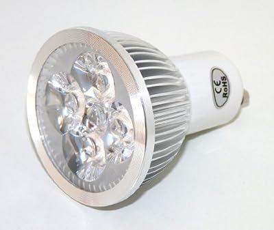 GU10 4w Energie-Sparer 4 x 1 Watt Dimmbar LED- 30 Grad-Lichtstrahl-Winkel - 4 Watt Super Helle Spot Glühbirne - WarmWeiß - gegenwärtig 50 Watt-Halogen von Cree bei Lampenhans.de