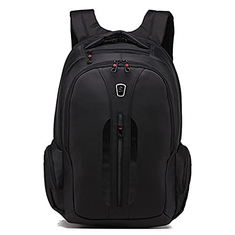 Slotra Business Laptop Backpack,15.6 inch Travel Laptop Backpack Water Resistant Laptop (Piccolo Nero Maniglia)