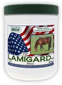 Equine America Lamitreat - Suplemento nutritivo contra la laminitis para caballos y ponis (474g)