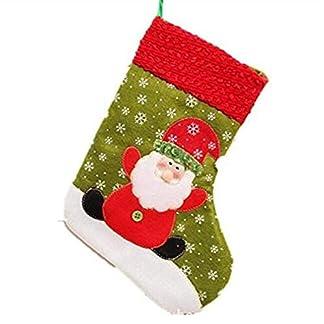 3x Navidad Calcetin Almacenamiento De Titular Dulces Regalo De Navidad Casa De Vacaciones Decoracion -3 Estilo
