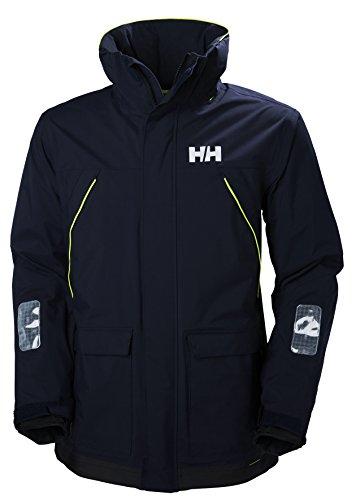 Helly Hansen Herren Pier Jacke, Blau (Navy), Large