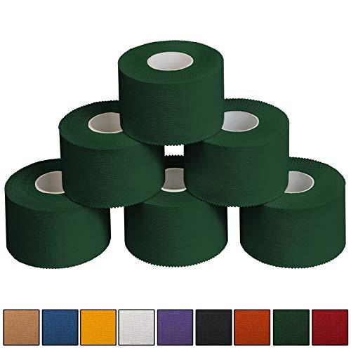 ALPIDEX 6 x Sport-Tape 3,8 cm x 10 m, Farbe:grün