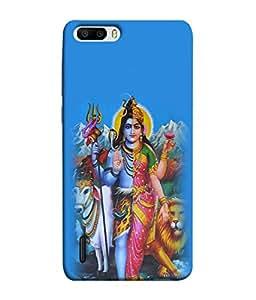 Fuson Designer Back Case Cover for Huawei Honor 6 Plus (God Bhagwan Shiv Shankar Bhole Nath Trinetra Trishul )
