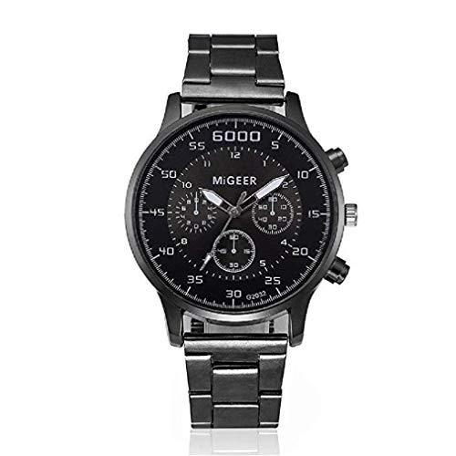 aca28e7d1c39 Reloj de Cuarzo para Hombre Reloj de Caballero para Hombres Reloj de Cuarzo  con Diamantes Dial