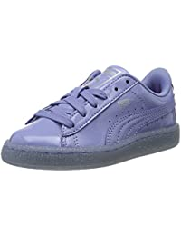 Puma Unisex-Kinder Basket Patent Iced Glitter PS Low-Top