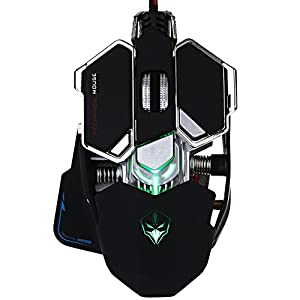 Icegrey 4000 DPI 10 Tasten USB Wired Gaming Maus für Pro Gamer