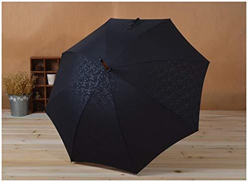 Lace Shades (Hot Flower Lace Shade Sonnencreme Schwarz Langstielschirm Princess Umbrella Holzgriff Sonnenschirm mit geradem Griff)
