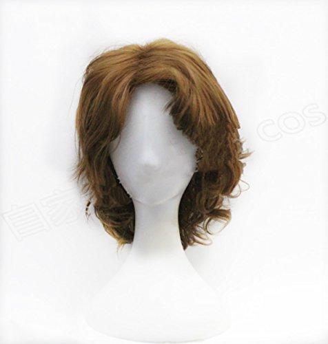 ücke Film SW Kostüm Perücken weichem Haar Zubehör für Erwachsene Fancy Kleid Requisiten ()