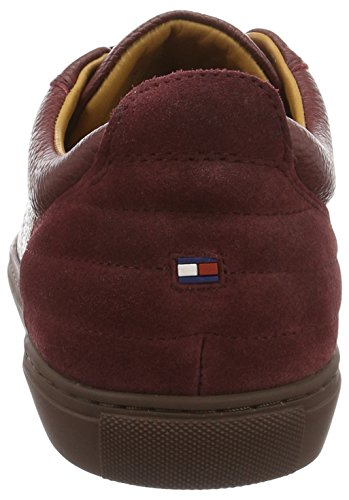 Tommy Hilfiger M2285ount 11a, Sneakers Basses Homme Marron (Decadent Chocolate 296)