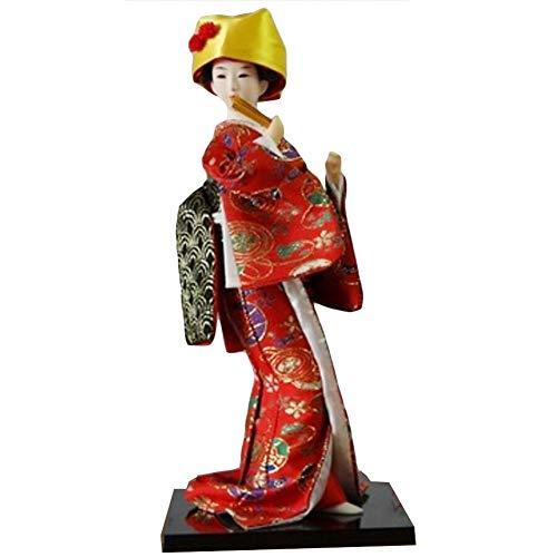 Black Temptation Traditionelle japanische schöne Kimono-Geisha / Maiko Puppe /Geschenke / Deko-A3
