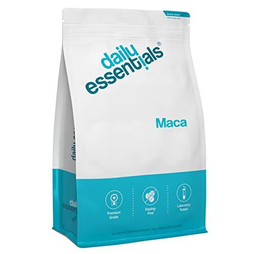 MACA - 500 Tabletten - 2000 mg je Tagesportion - Macawurzel aus Peru - Laborgeprüft, ohne Magnesiumstearat, hochdosiert, vegan und hergestellt in Deutschland