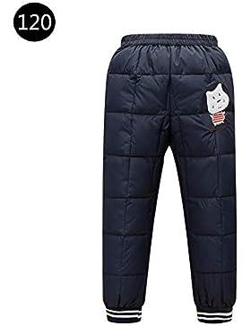 iBaste Daunenhose Baby Winterhose Stepphose Kinderhose Schneehose Verdickte Winterhose für Kinder Jungen Mädchen...