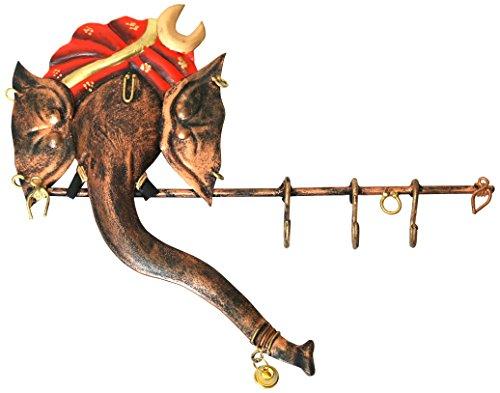Swapkri Collections DIWALI DHOOM DHOOM 20% OFFER Swapkri Collections Ganesh Metal Key Holder
