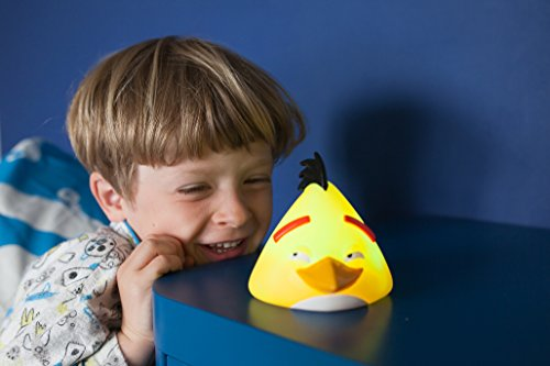 Image of Angry Birds Illumi-Mate Chuck Colour Changing Light, Plastic, Yellow