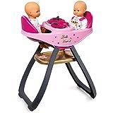 Smoby - 220315 - Baby Nurse - Chaise Haute Jumeaux