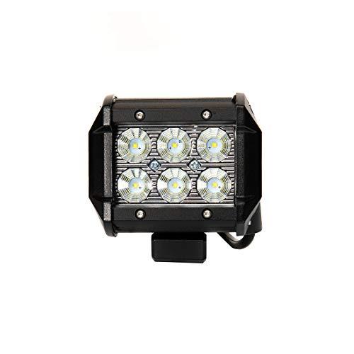 Auto LED Arbeitsscheinwerfer 18W Arbeitslicht Lampe LED Motorrad Traktor Boot Geländewagen 4x4 LKW SUV Nebelscheinwerfer für ATV (Lkw 4-zoll-nebelscheinwerfer Für)