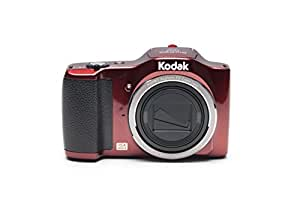 """Kodak PIXPRO Friendly Zoom FZ152-RD 16MP Digital Camera with 15X Optical Zoom and 3"""" LCD (Red)"""
