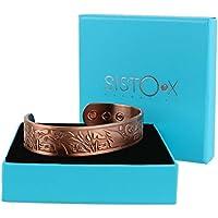 Kupfer magnetisch Armband/Armreif elegante Swan Design by sisto-x ® 6Magnete Starke Gesundheit preisvergleich bei billige-tabletten.eu
