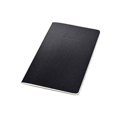 Sigel CO863 Cuaderno de notas, 13.5 x 21 cm, a líneas, Softcover, schwarz,...