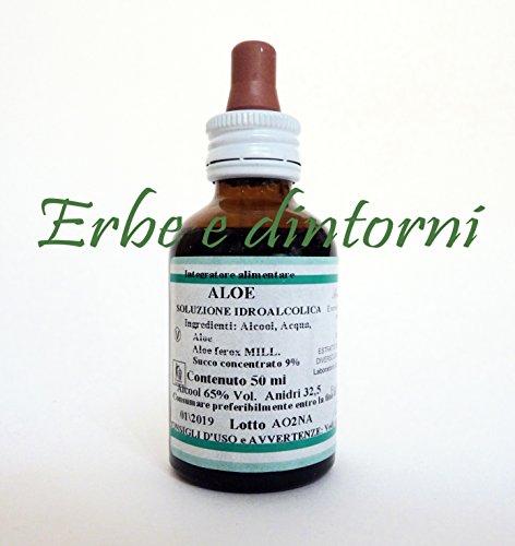 ALOE Aloe ferox Estratto idroalcolico 50 ml. Lassativo,depurativo,antiossidante
