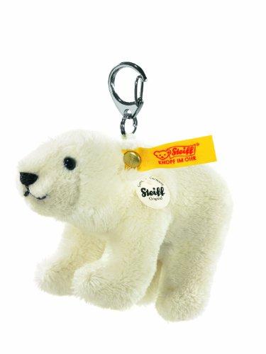 Steiff 112195 - Schlüsselanhänger Eisbär, weiß