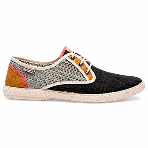 Maians Chaussure Calisto Chaussures Homme de Ville à Lacets Beige 100% Coton (41 EU, Beige)