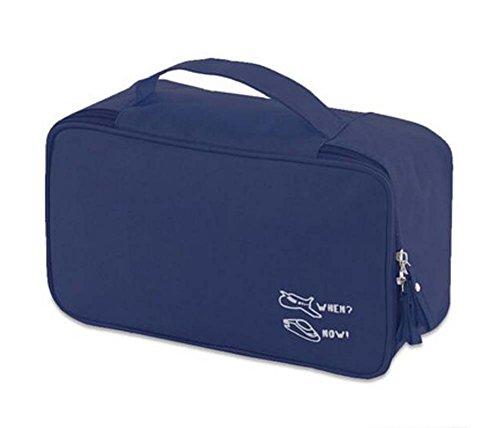 Classique Cuir Maquillage Case étanche Durable Cosmetic Bag Locker