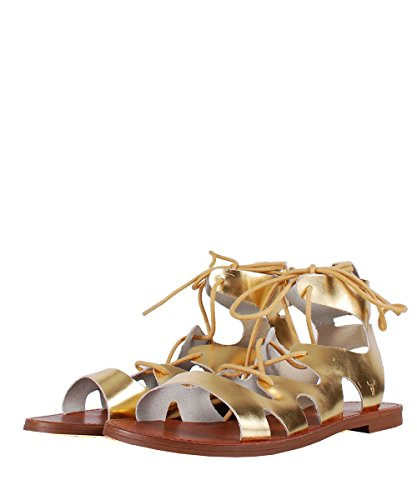 Windsor Smith Baby Sandal Gold - Sandali Oro Stringati Gold