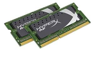 Kingston KHX1600C9S3P1K2/8G Mémoire RAM pour Notebook HyperX Plug and Play SODIMM 8 Go (2 X 4 Go) 1600 MHz